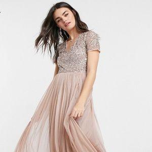 ASOS Maya Bridesmaid Dress BRAND NEW Size US 2